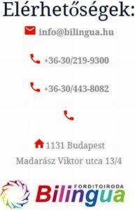 angol-magyar fordító iroda