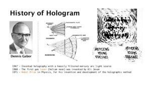 Hologram, holográfia